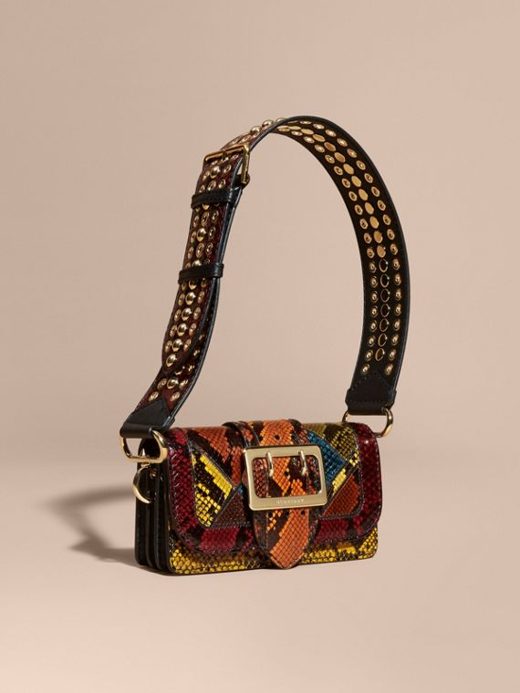 The Patchwork in Snakeskin - Women   Burberry