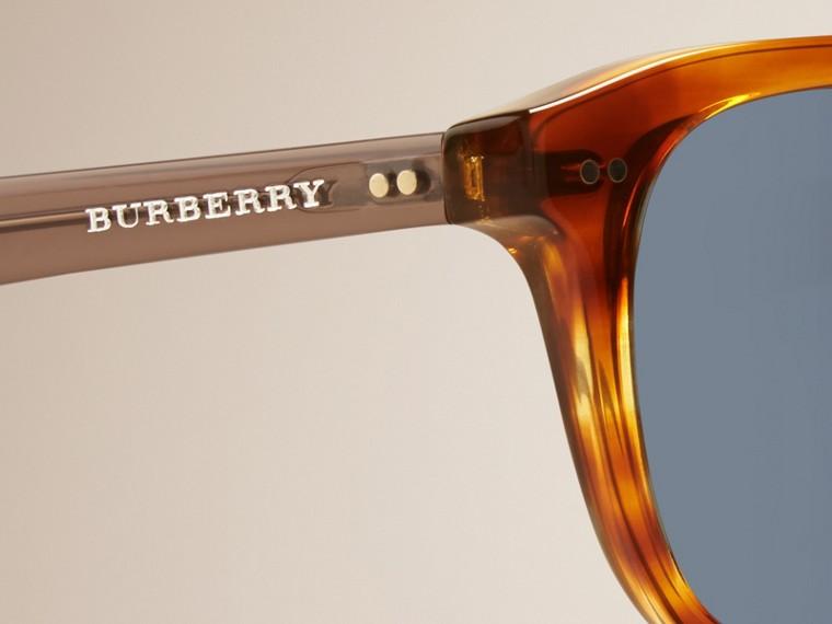 Tortoise amber Square Frame Sunglasses Tortoise Amber - cell image 1