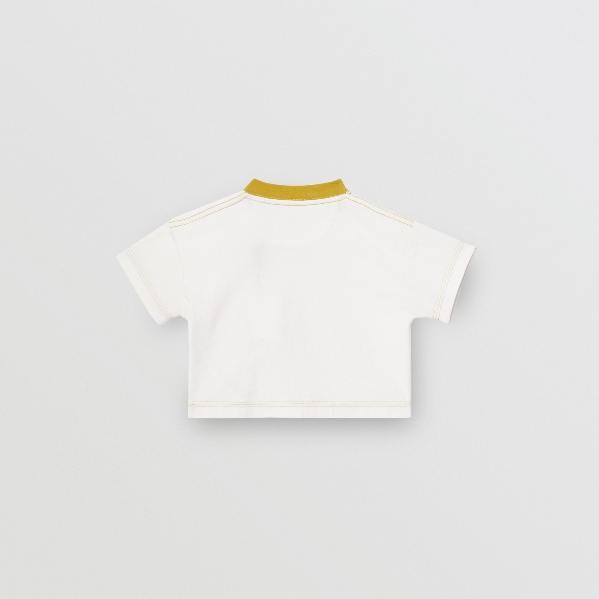 Comic Strip Print Cotton T-Shirt in Light Stone - Children | Burberry - gallery image 3