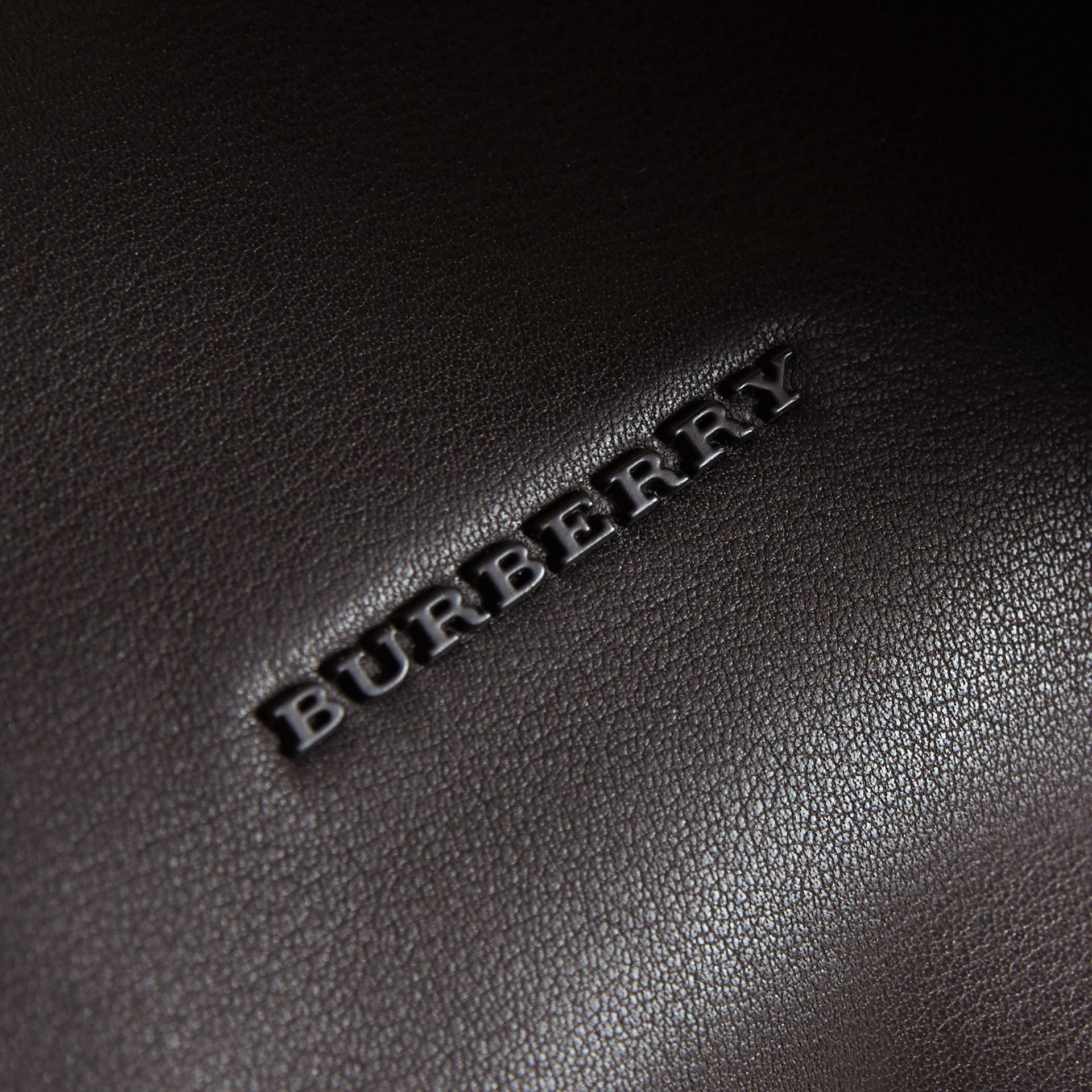 Leather Crossbody Bag in Black - Men | Burberry United Kingdom - gallery image 2