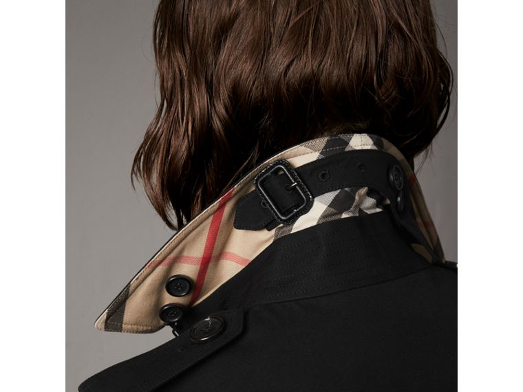 Trench coat Kensington largo (Negro) - Mujer | Burberry - cell image 1