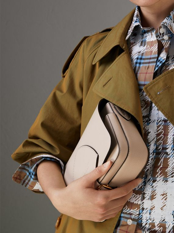 The Square Satchel in Leather in Stone - Women | Burberry United States - cell image 3