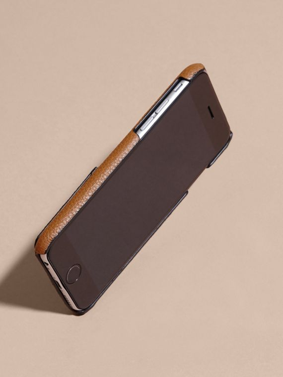 Tan Grainy Leather iPhone 6 Case - cell image 2