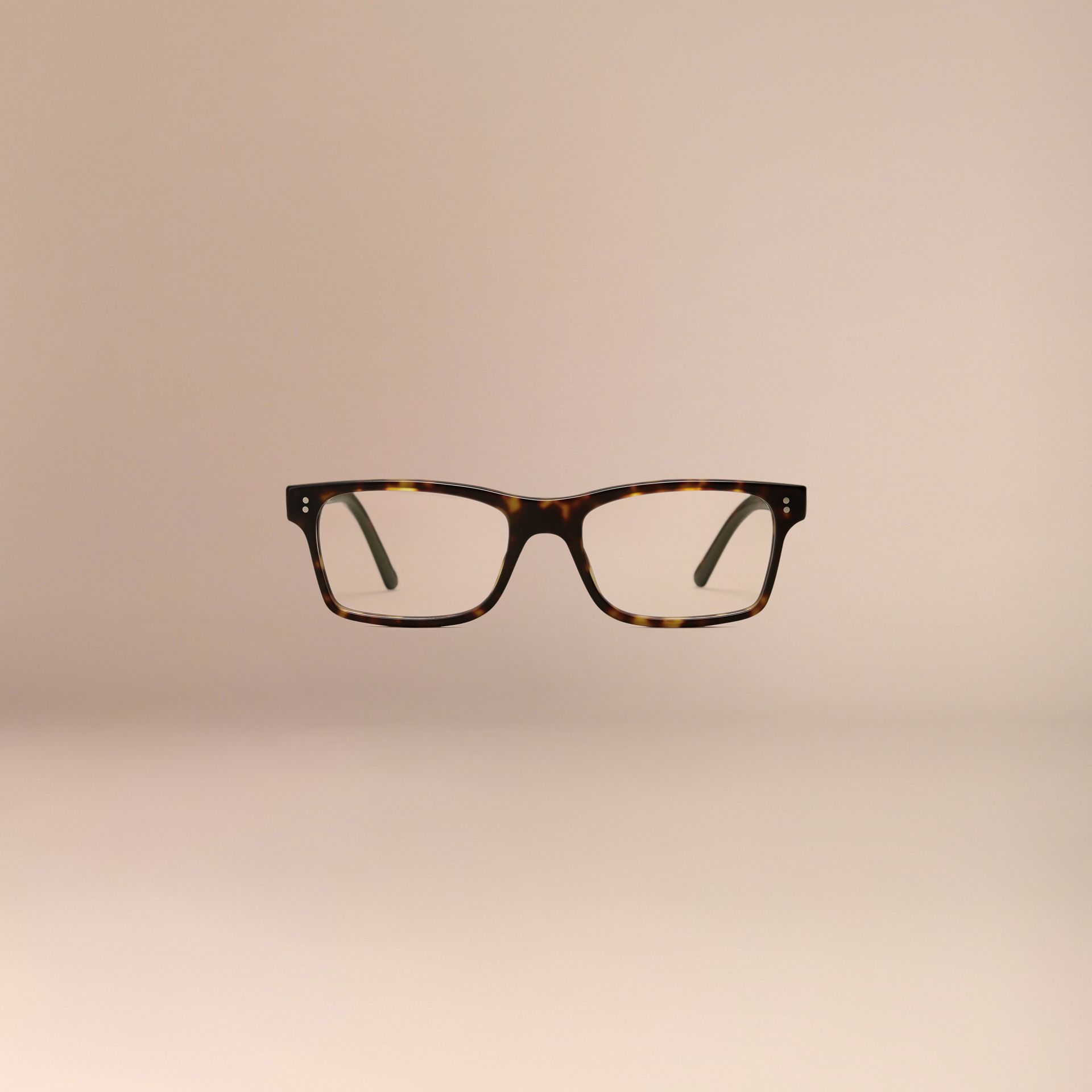 Rectangular Optical Frames Brown - gallery image 3