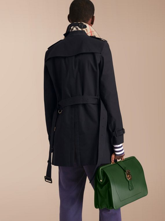 The Chelsea – Mid-length Heritage Trench Coat in Navy - cell image 2