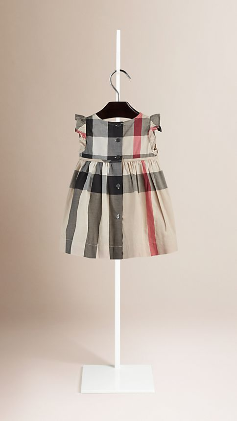 New classic check Flutter Sleeve Check Dress New Classic - Image 2