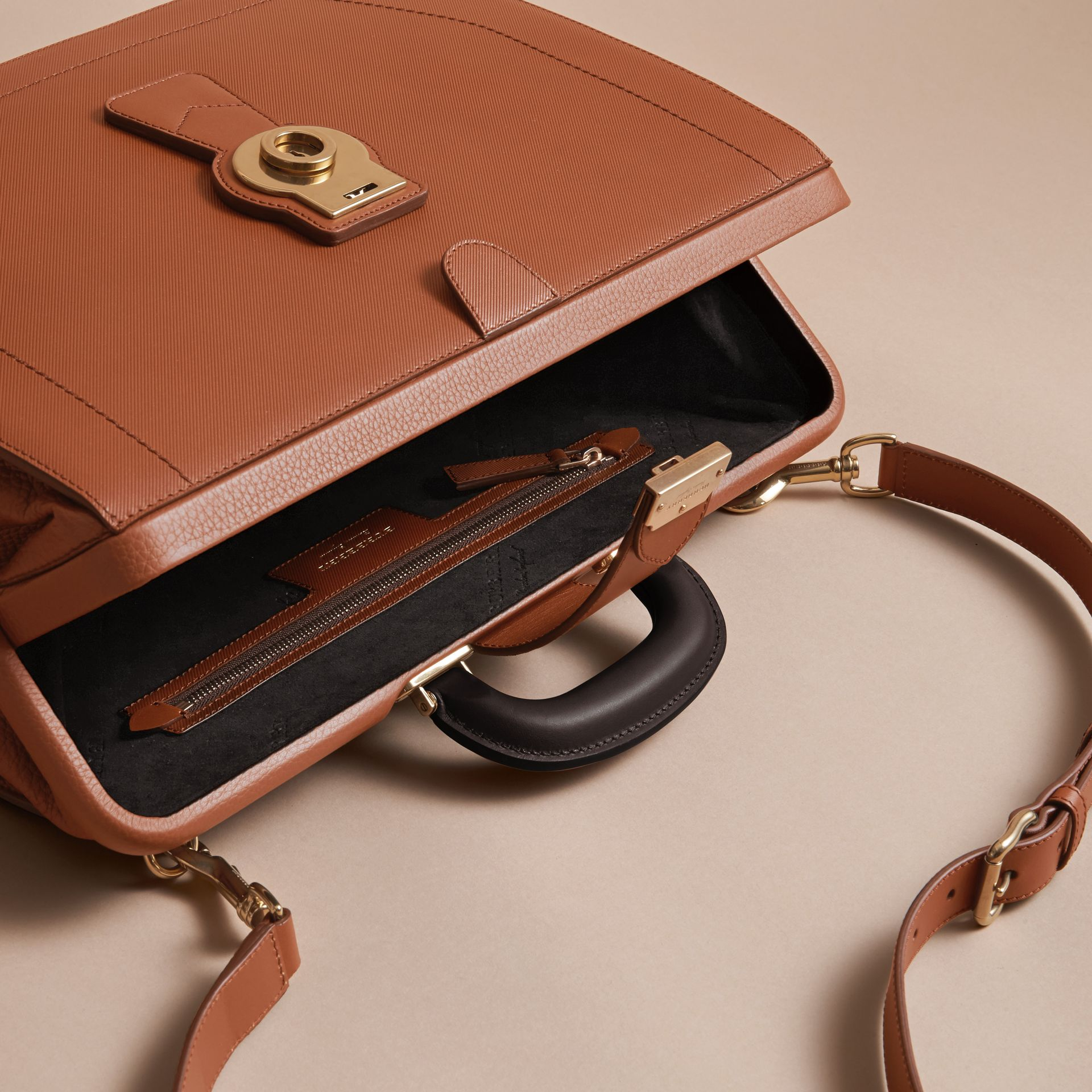 The DK88 Doctor's Bag in Tan - Men | Burberry - gallery image 4