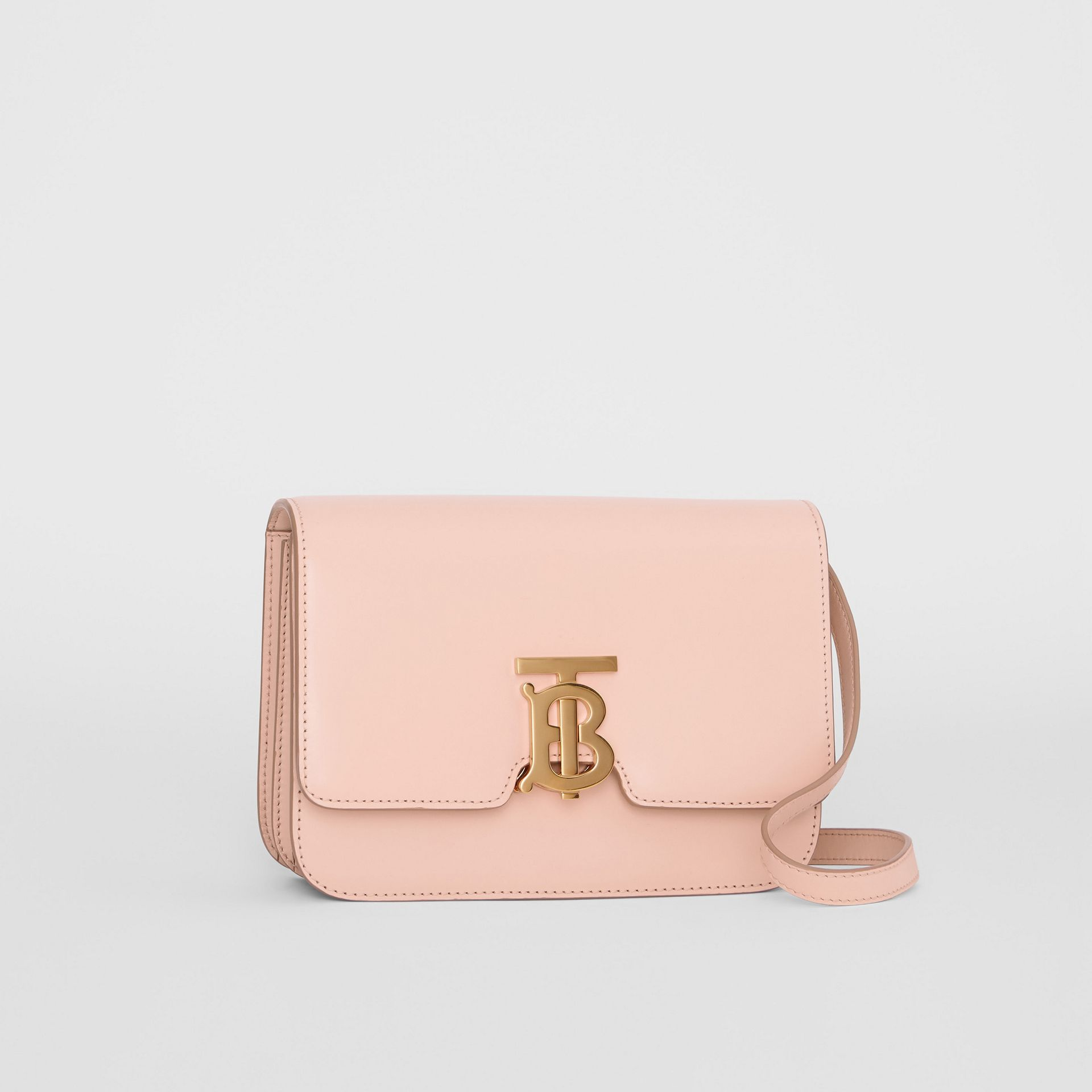Petit sac TB en cuir (Beige Rose) - Femme | Burberry - photo de la galerie 6