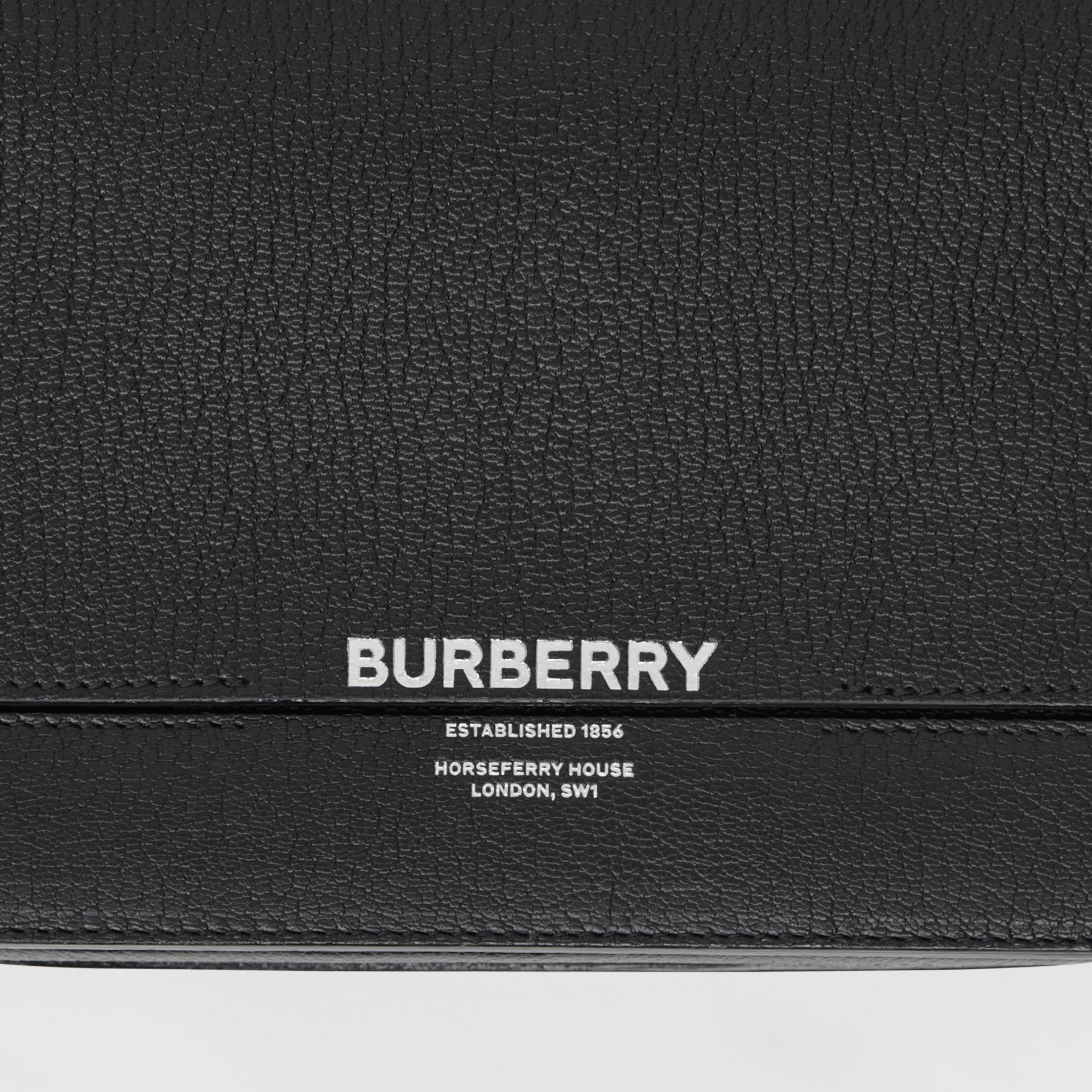 Small Leather Grace Bag in Black - Women | Burberry United Kingdom - gallery image 1