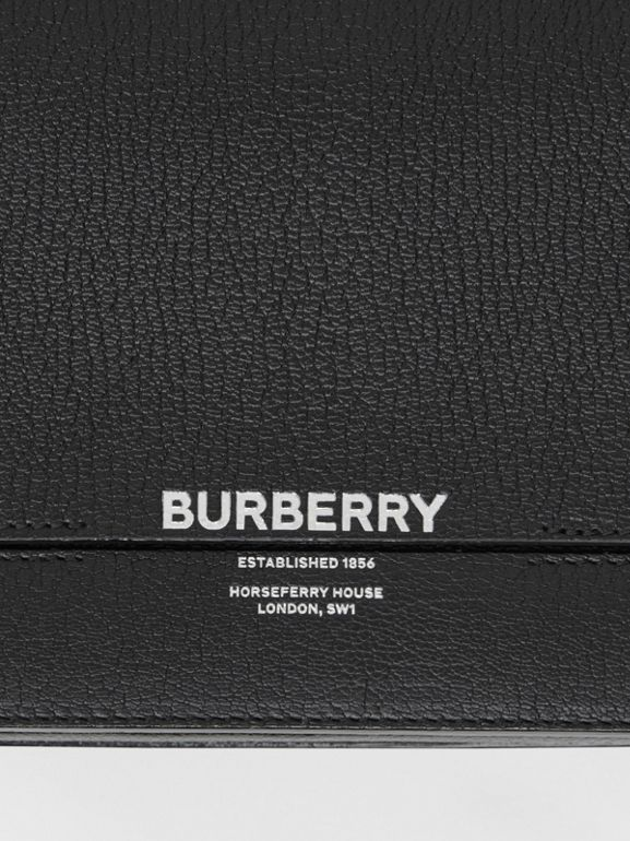 Small Leather Grace Bag in Black - Women | Burberry United Kingdom - cell image 1