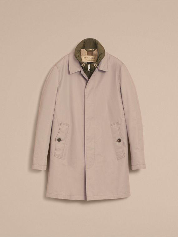 Lightweight Cotton Car Coat with Detachable Gilet Stone - cell image 3