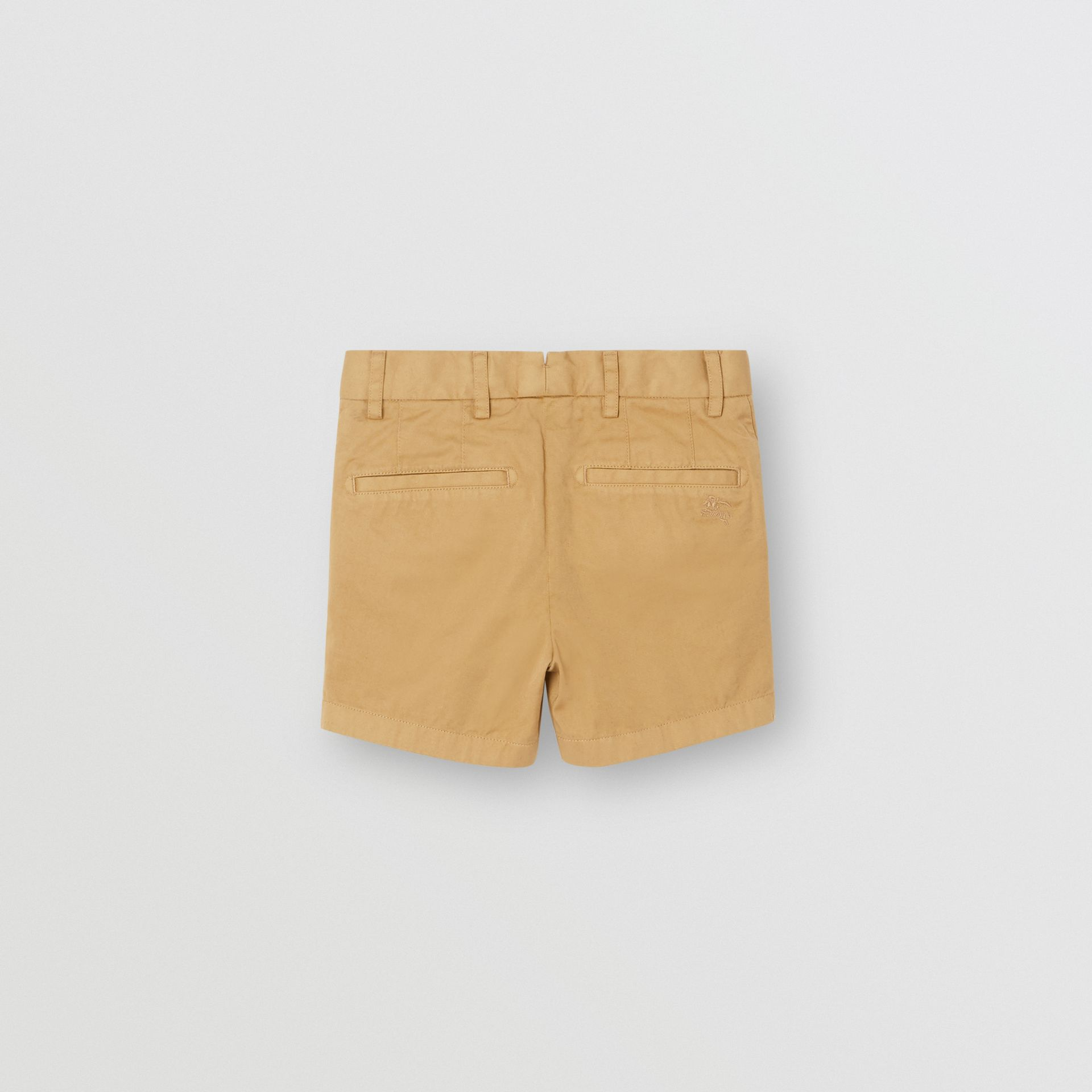 Short chino en coton (Taupe) | Burberry Canada - photo de la galerie 3