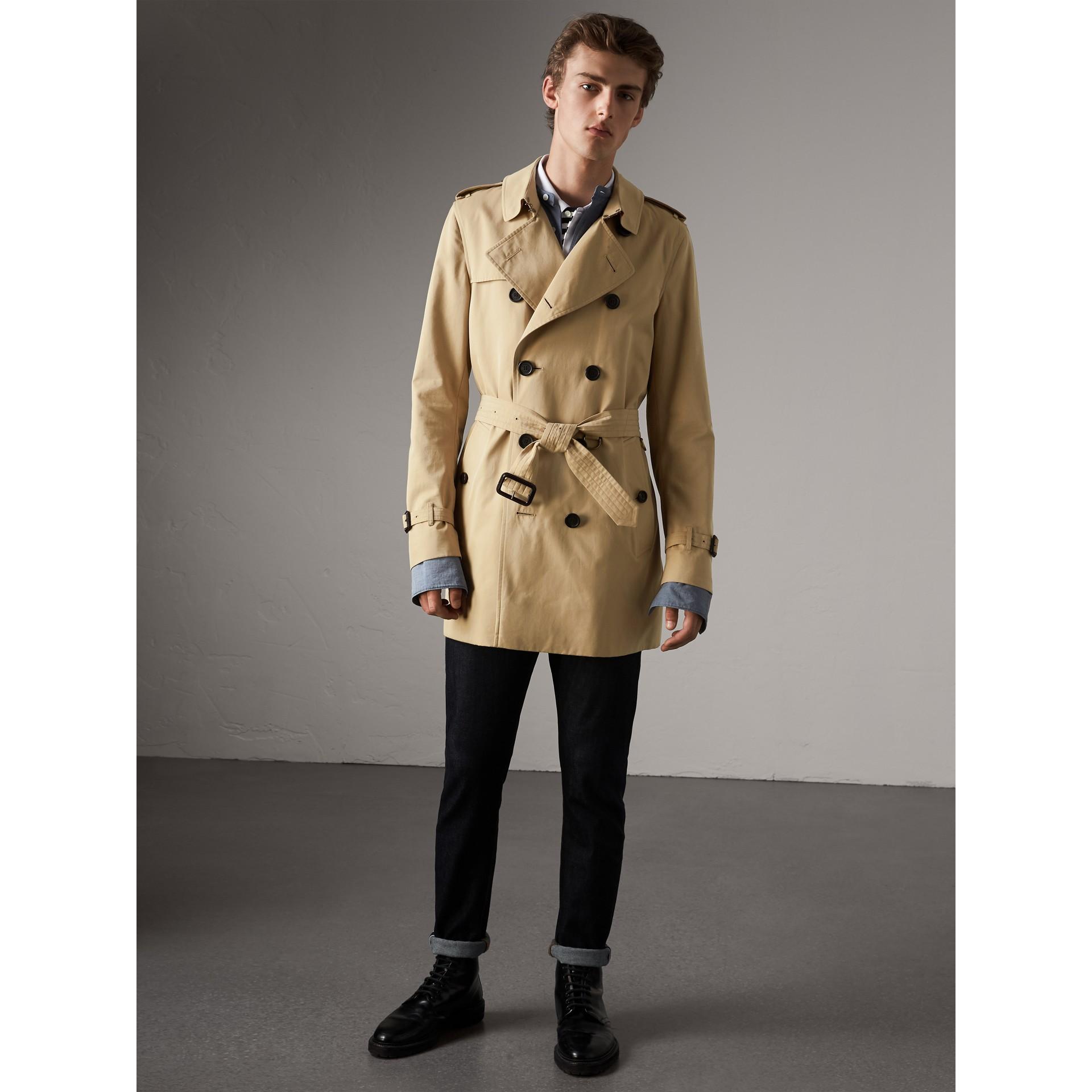 b2ff4dcbb The Kensington – Mid-length Trench Coat in Honey - Men