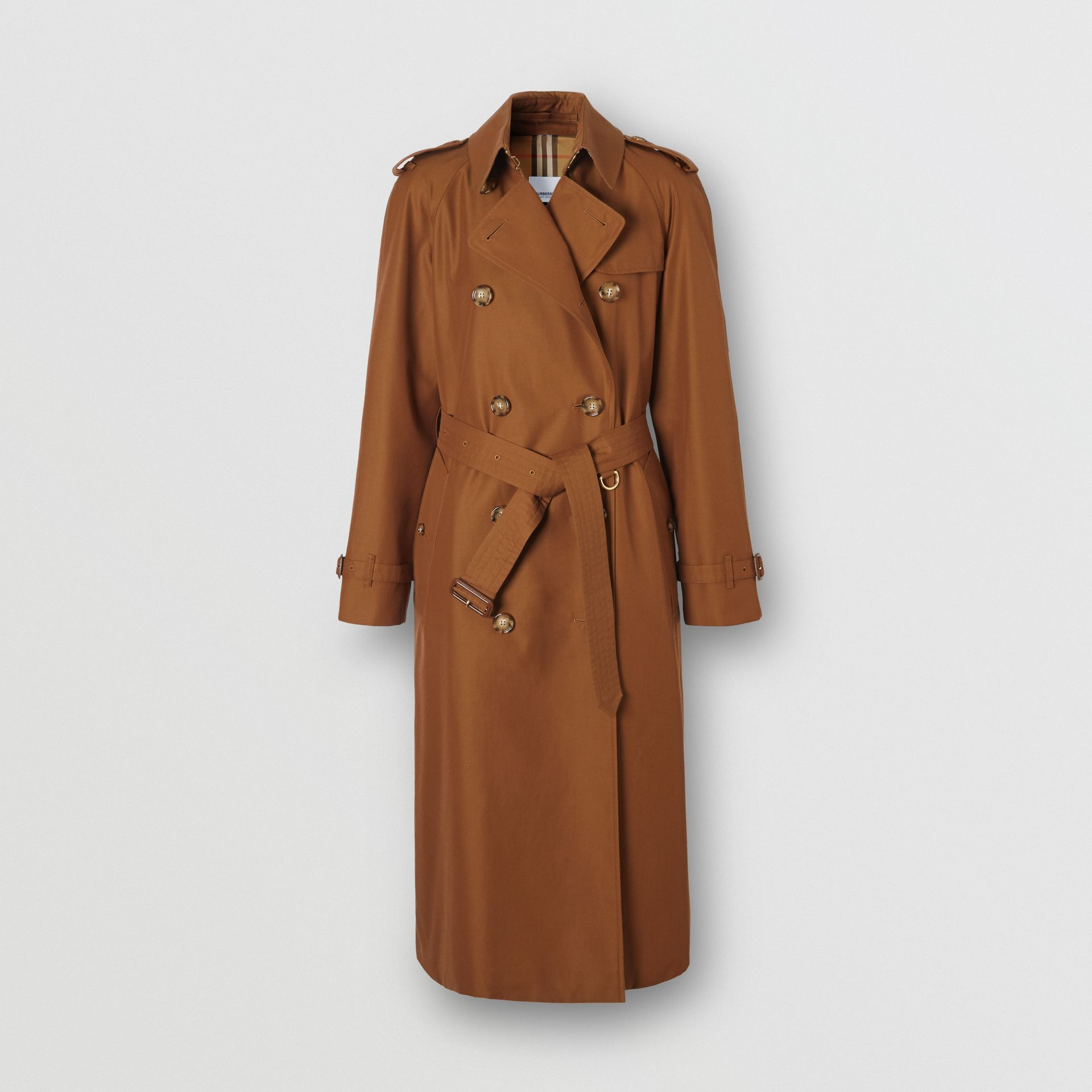 The Waterloo Heritage Trench Coat in Chestnut Brown - Women | Burberry - gallery image 3