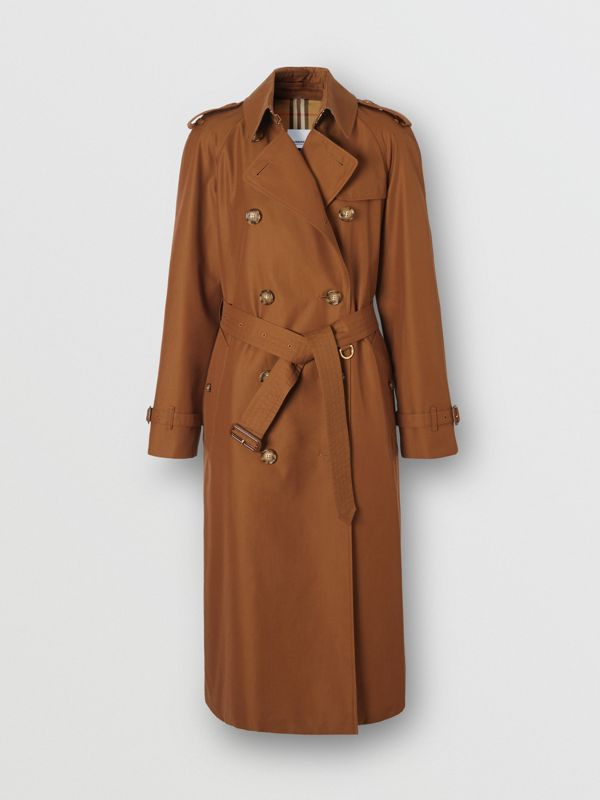 The Waterloo Trench Coat in Chestnut Brown - Women | Burberry - cell image 3