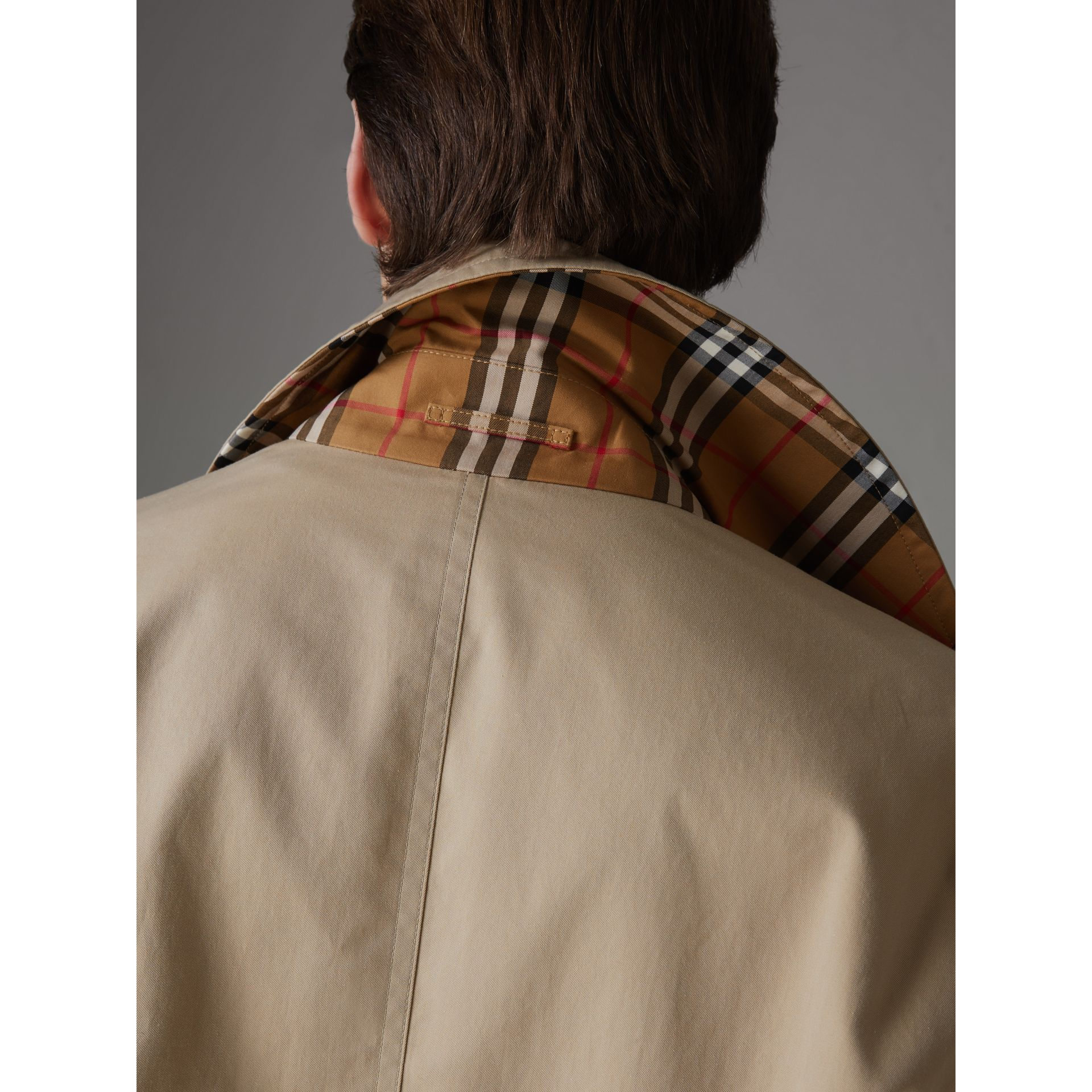 Rainbow Vintage Check Harrington Jacket in Antique Yellow/rainbow - Men | Burberry United Kingdom - gallery image 5