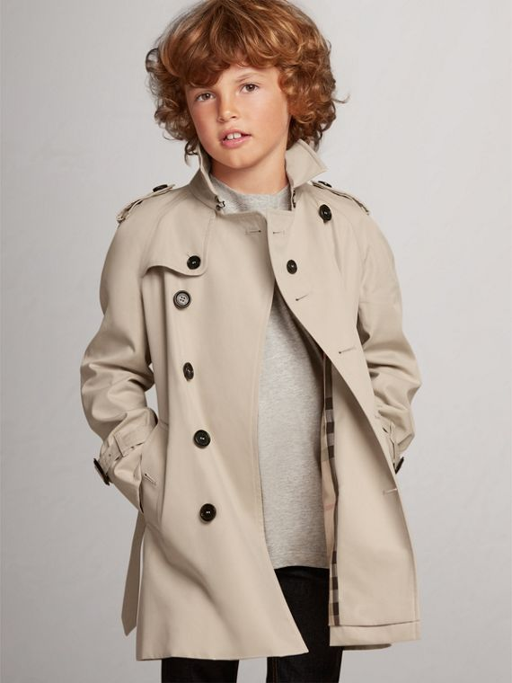 The Wiltshire Trench Coat in Stone