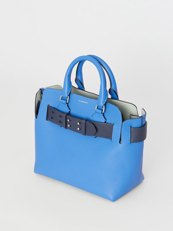 Borsa The Belt piccola in pelle (Blu Ortensia) - Donna | Burberry - cell image 3