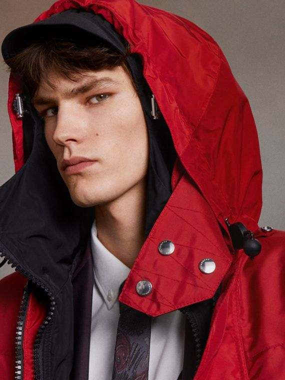 Nylon Canvas Deck Jacket with Detachable Warmer - Men | Burberry Canada