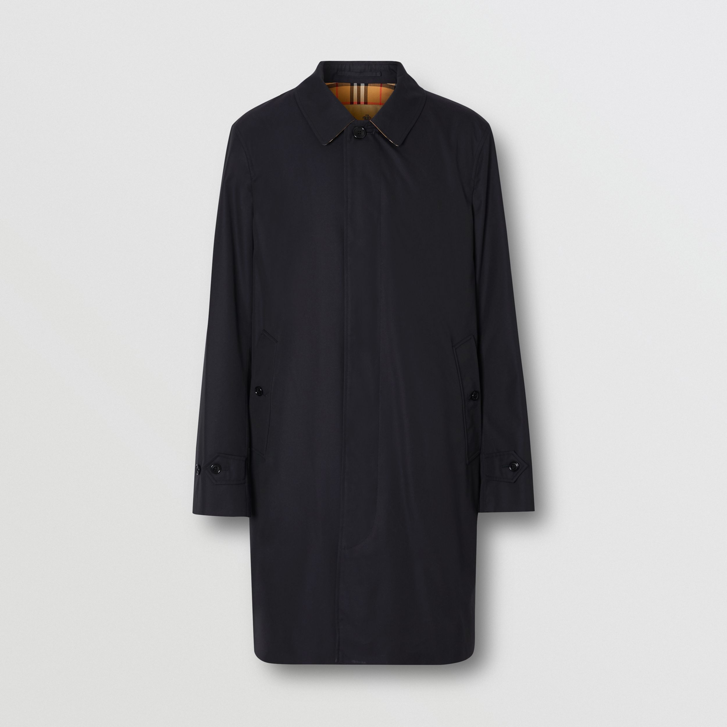 The Pimlico Car Coat in Midnight - Men | Burberry - 4