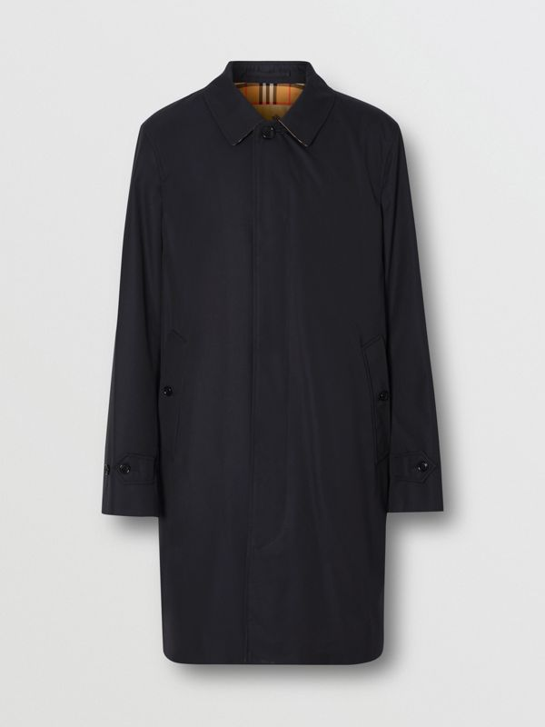The Pimlico Heritage Car Coat in Midnight - Men | Burberry - cell image 3