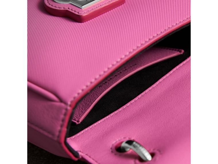 The Mini DK88 Top Handle Bag in Rose Pink - Women | Burberry - cell image 4