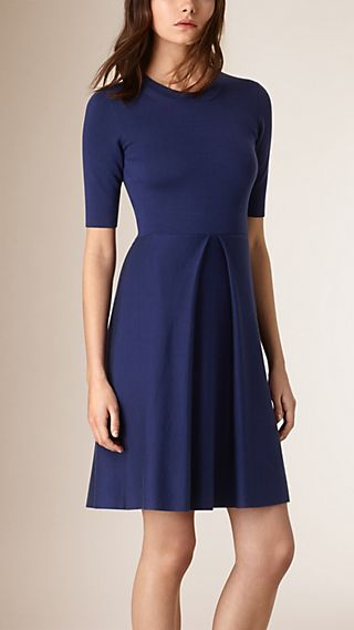 Knitted Silk Wool Dress