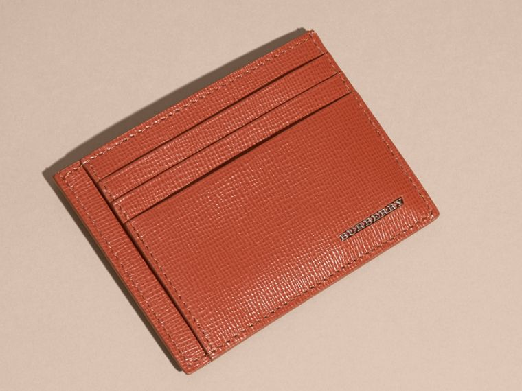 London Leather Card Case in Burnt Sienna - cell image 4