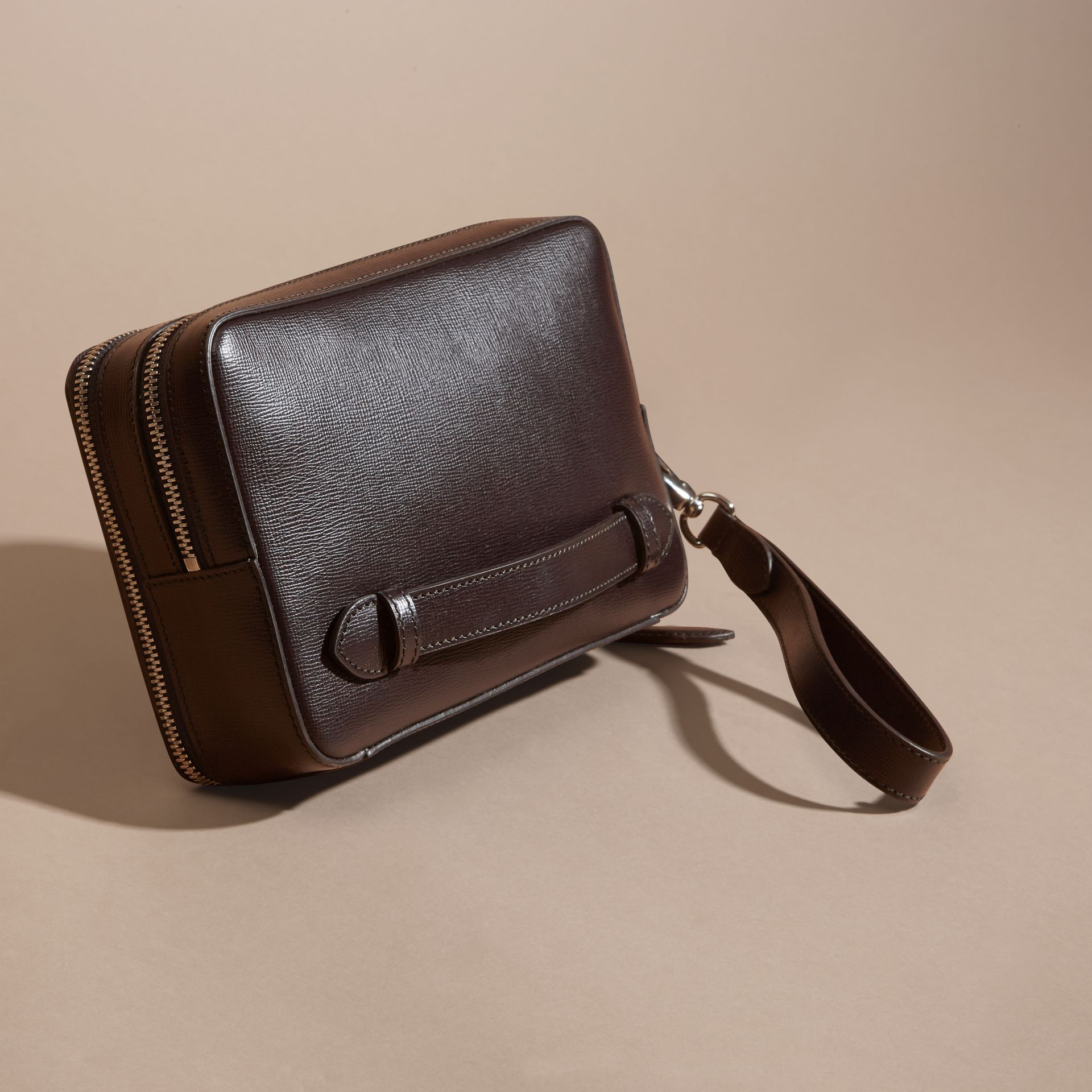 Wine London Leather Pouch - gallery image 4