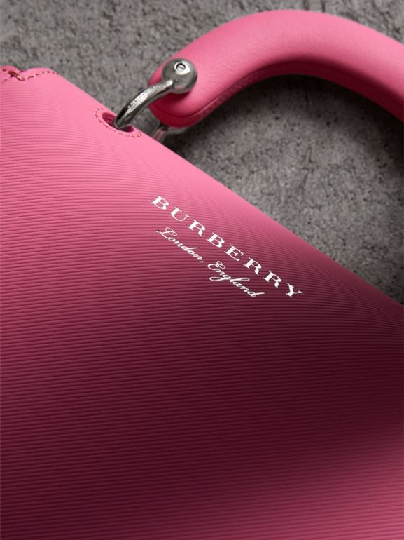The Small DK88 Top Handle Bag in Rose Pink - Women | Burberry - cell image 1