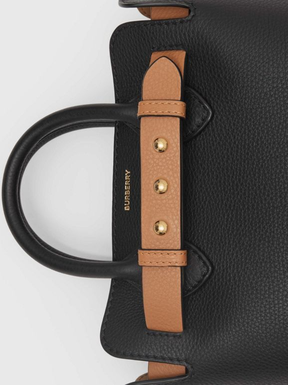The Mini Leather Triple Stud Belt Bag in Black - Women | Burberry Singapore - cell image 1