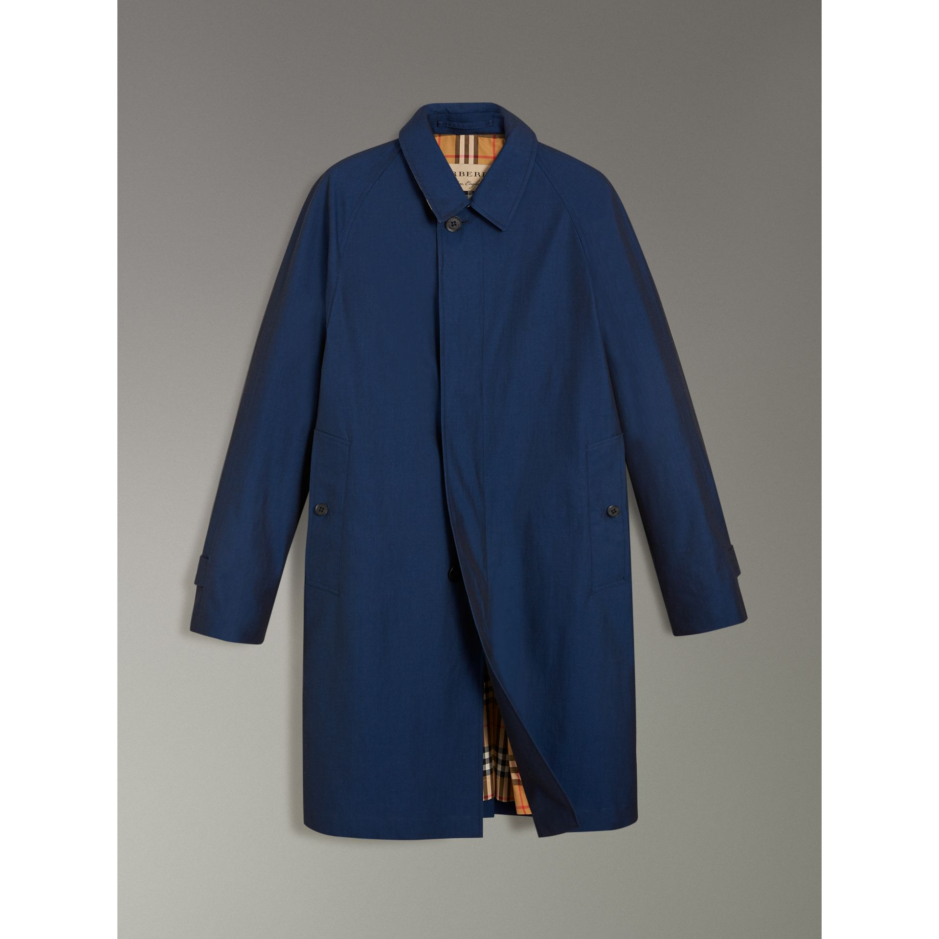 The Camden Car Coat in Bright Regency Blue - Men | Burberry United Kingdom - gallery image 3