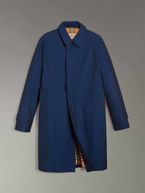 The Camden Car Coat in Bright Regency Blue - Men | Burberry - cell image 3