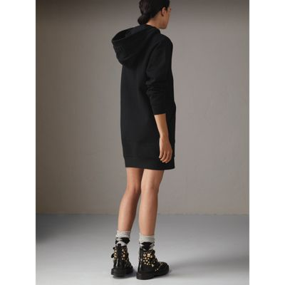 burberry hood sweatshirt dress