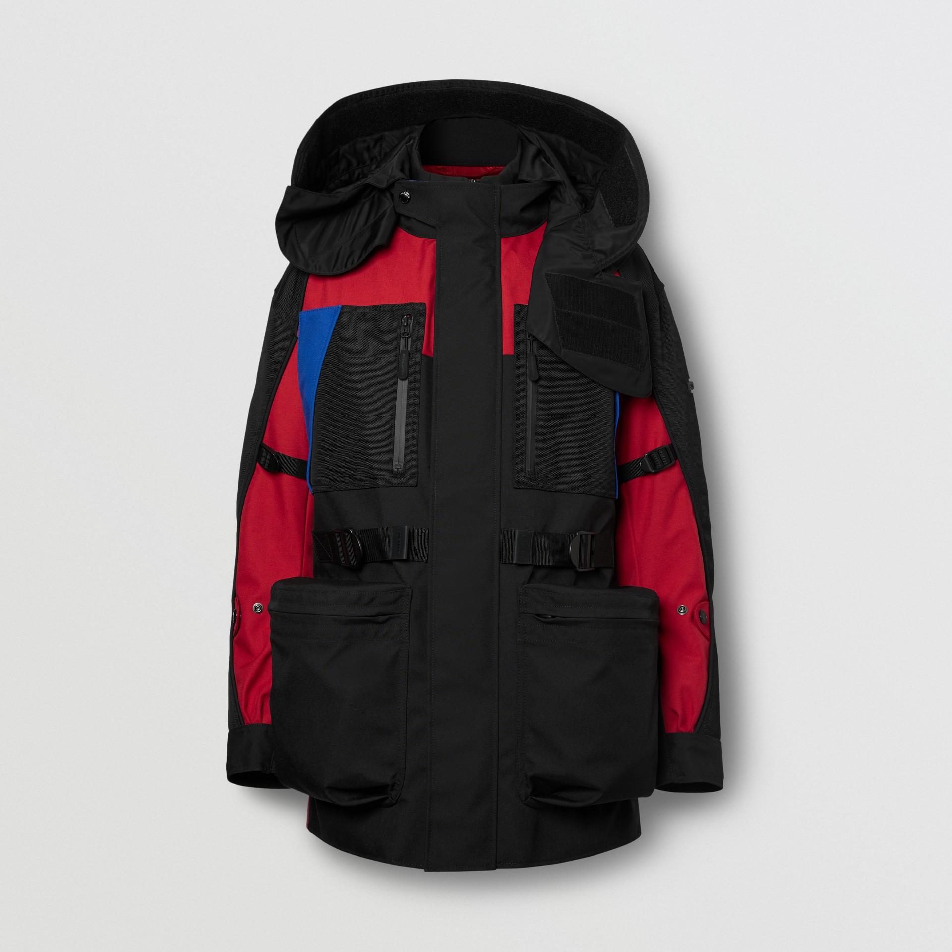 Нейлоновая куртка со съемной подкладкой в виде пуховой куртки (Черный) - Для мужчин | Burberry - изображение 3