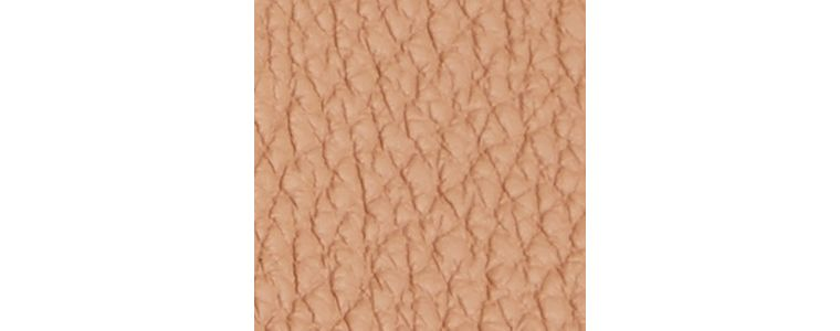 Pale apricot The Medium Milton in Grainy Leather Pale Apricot - cell image 1