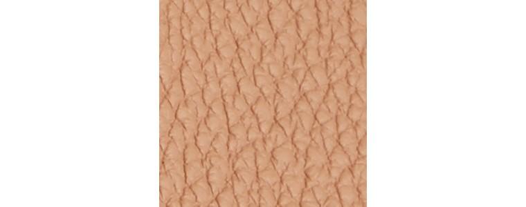 Pale apricot Bolsa Milton média de couro granulado Pale Apricot - cell image 1