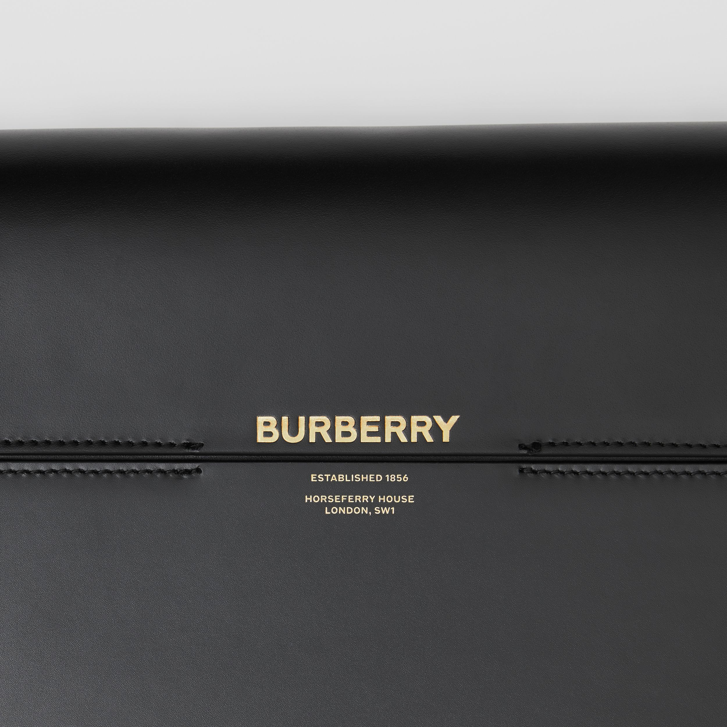Large Leather Grace Bag in Black - Women | Burberry United Kingdom - 2