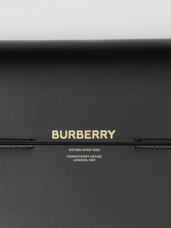 Large Leather Grace Bag in Black - Women | Burberry United States - cell image 1