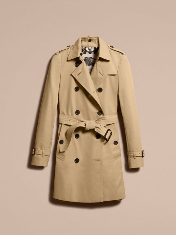 Miel The Kensington – Trench-coat Heritage mi-long Miel - cell image 3
