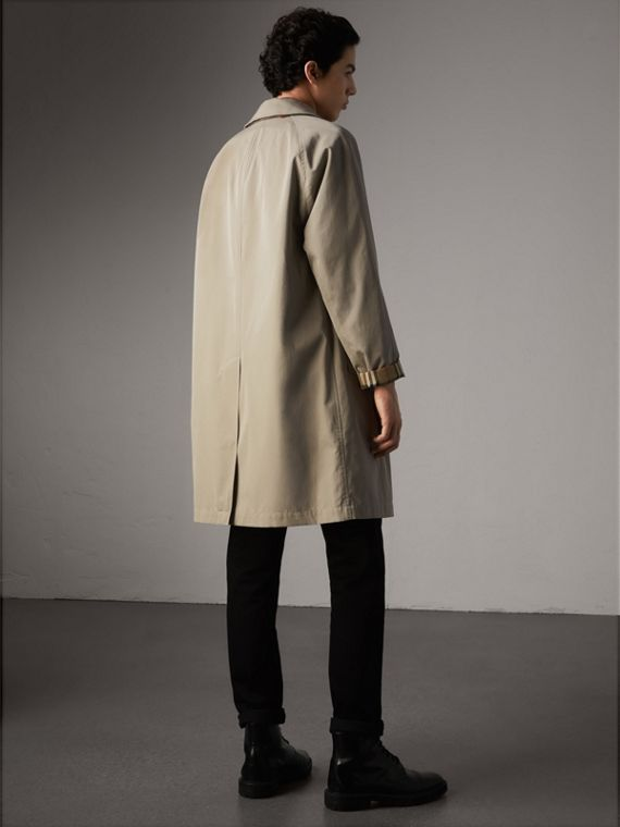 The Camden – Long Car Coat in Sandstone - Men | Burberry - cell image 2
