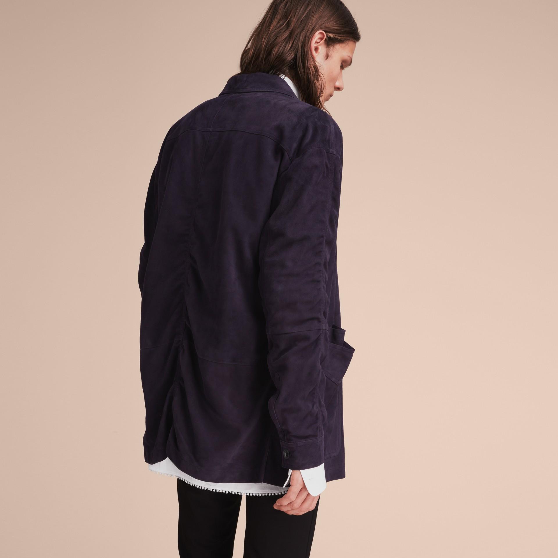 Suede Workwear Jacket - gallery image 3
