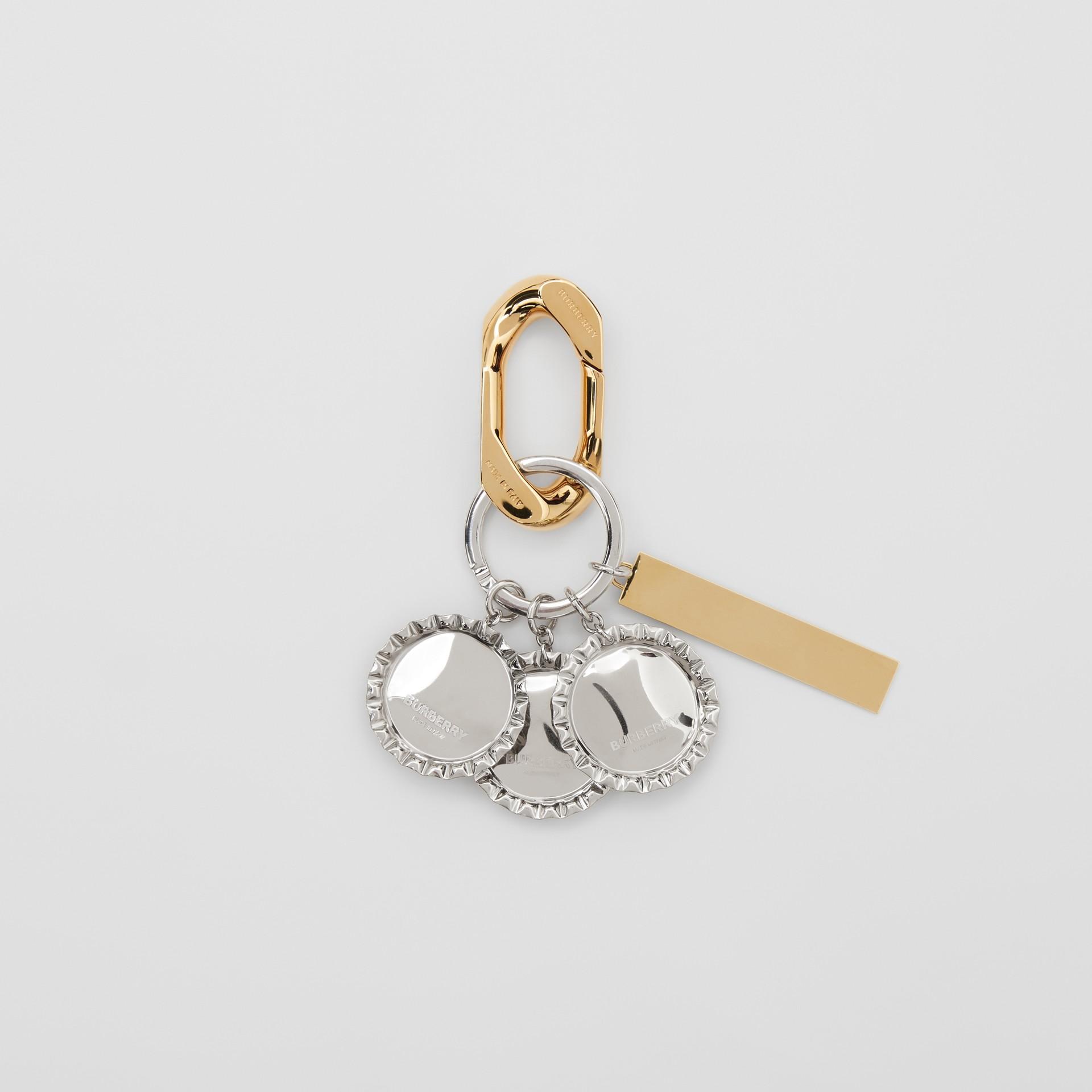 鍍金和鍍鈀金瓶蓋吊飾 (多色) - 女款 | Burberry - 圖庫照片 2