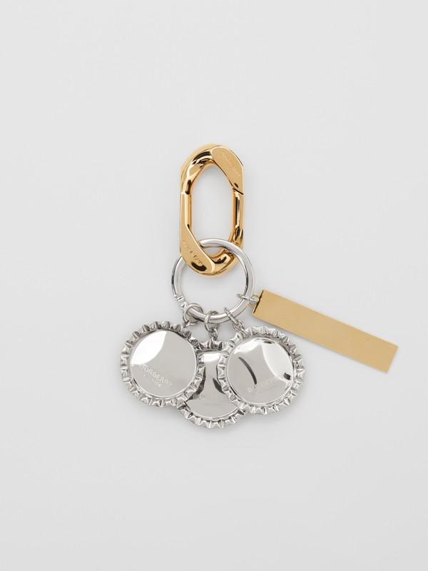 鍍金和鍍鈀金瓶蓋吊飾 (多色) - 女款 | Burberry - cell image 2