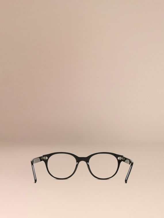 Round Optical Frames Black - cell image 2