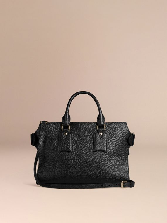 Black The Medium Clifton in Signature Grain Leather Black - cell image 2