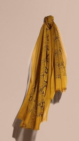 Python Print Silk Scarf