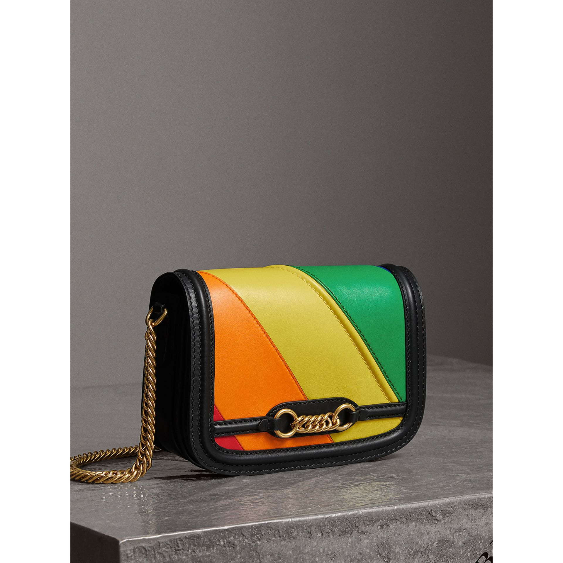 The Rainbow Leather Link Bag - Women | Burberry - gallery image 7