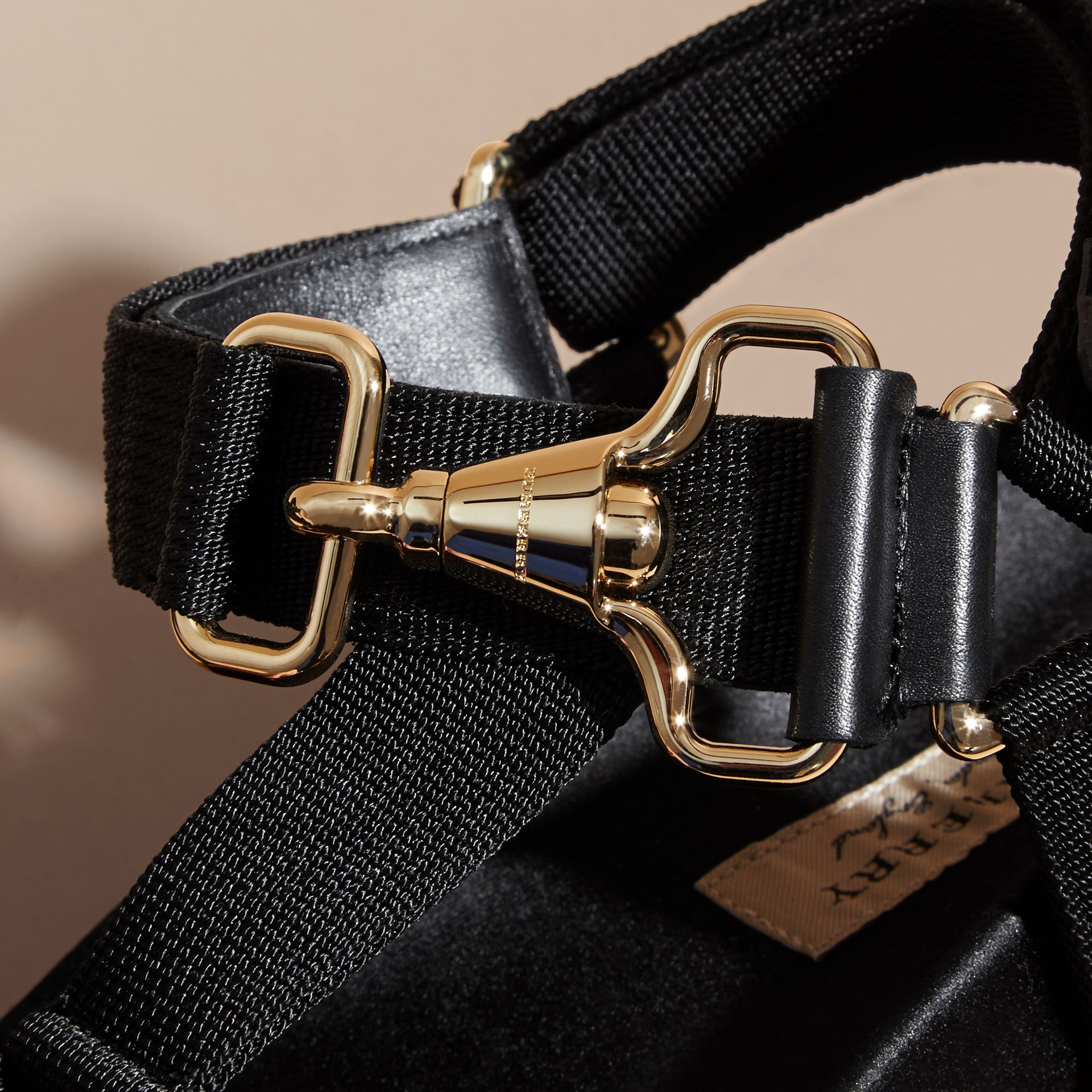 Hardware Detail Strappy Sandals - Women | Burberry - gallery image 2