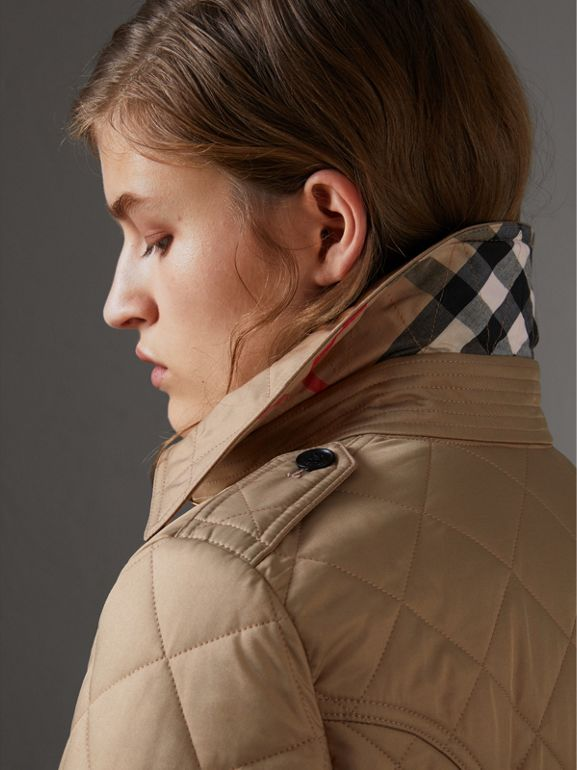 Jacke in Rautensteppung (Canvas) - Damen | Burberry - cell image 1